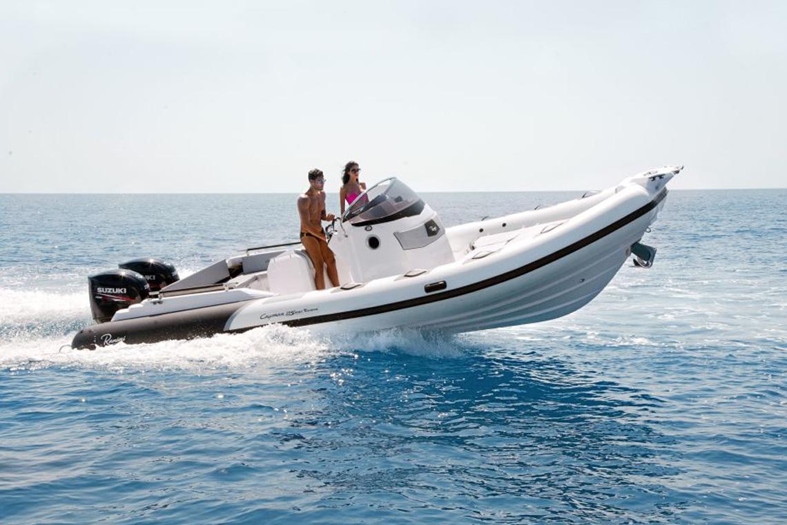 cayman-28-navigazione-isole-pontine-noleggio-gommone-circeo